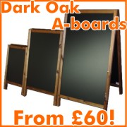 dark oak a-boards