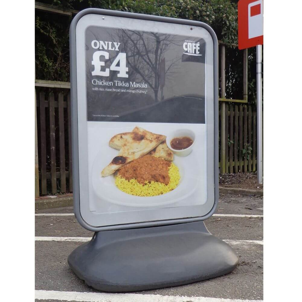 Sentinel Forecourt Sign - A0 Poster Size