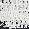 Pack of 294 White 13mm Tall Pegboard Letters