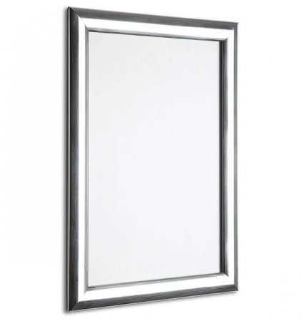 A4 Polished Silver Snap Frame