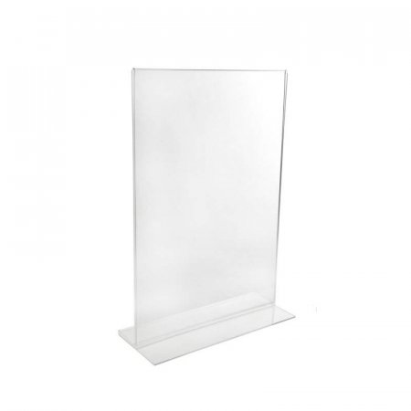 A5 Portrait Acrylic Menu Leaflet Holder