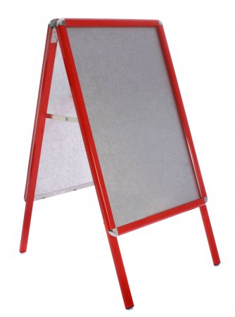 Snap Frame A-board - Traffic Red