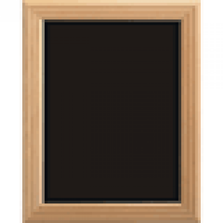 Beech Framed Chalkboard 460 x 560mm