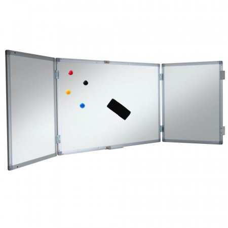Lockable Confidential Dry Wipe Whiteboard