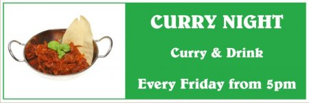 'Curry Night' Banner