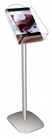 Decorative Aluminium and Acrylic Brochure Stands Portrait