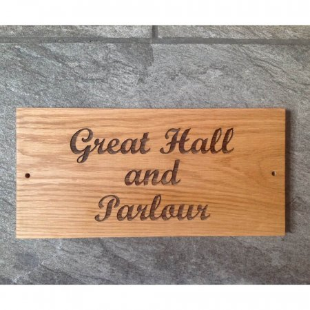 Wooden Engraved Signs