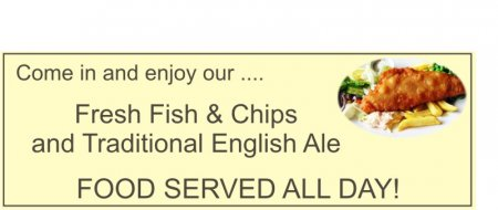 'Fish and Chips' Banner