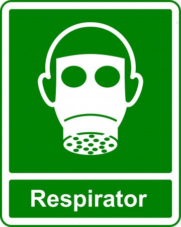 Respirator - Safe Condition Sign