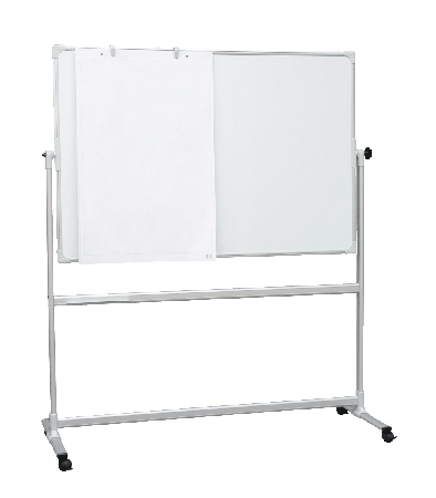 Mobile Whiteboard with Revolving Board
