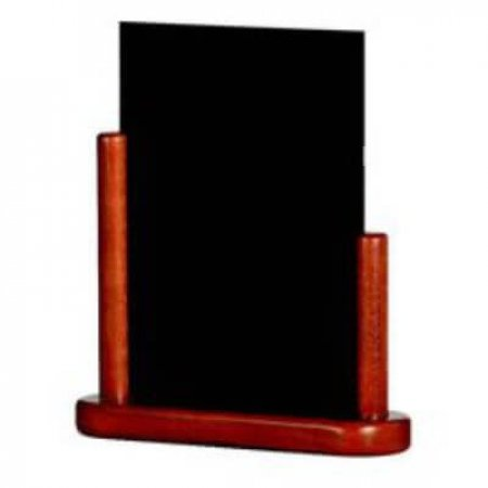Mahogany Table Top Chalkboard 210 x 300mm