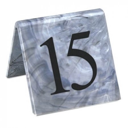 Marble Table Numbers 31-40
