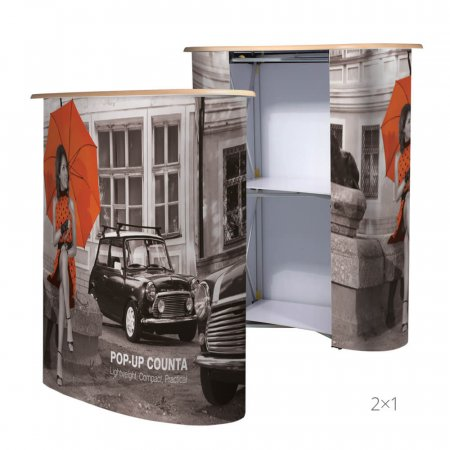 Exhibition Pop-Up Counter