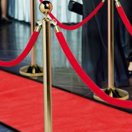 Red VIP Carpets