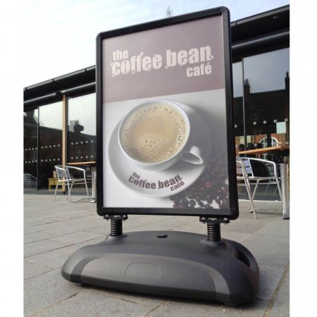 Sightmaster 3 Forecourt Sign - Black