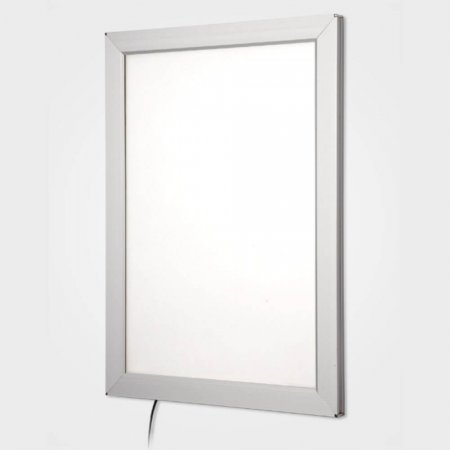 Silver Snap Frame Light Boxes for Internal Use