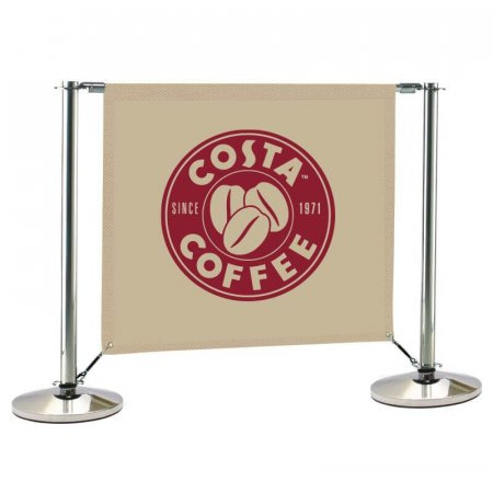 Eco Stainless Steel Cafe Barrier