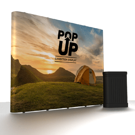Staight Pop Up Exhibition Stand