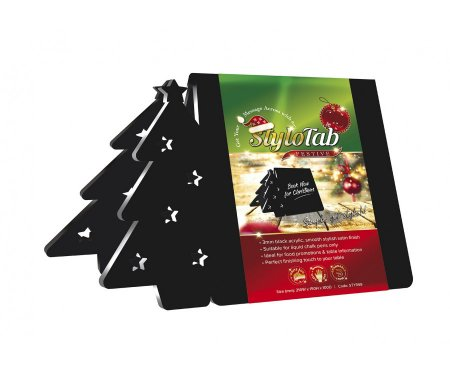 Christmas Tree Table Tent Sign