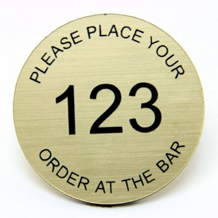 Table Numbered Information Discs