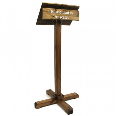 wooden plinth stand