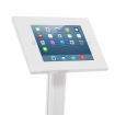 iPad Secure Floor Stand with Literature Units - Top