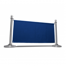 Blue Canvas Cafe Barrier Kit 1500mm Wide