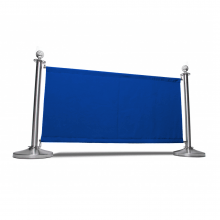 Blue Canvas Cafe Barrier System