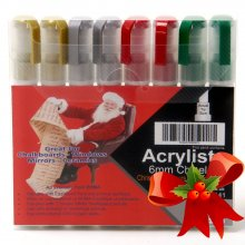 Christmas Liquid Chalkboard Pens - 15mm Nib