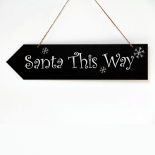 Eaziwipe Chalkboard Directional Arrow Sign