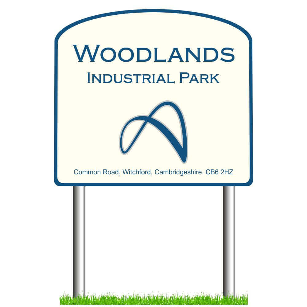 Arched Post Mounted Signs
