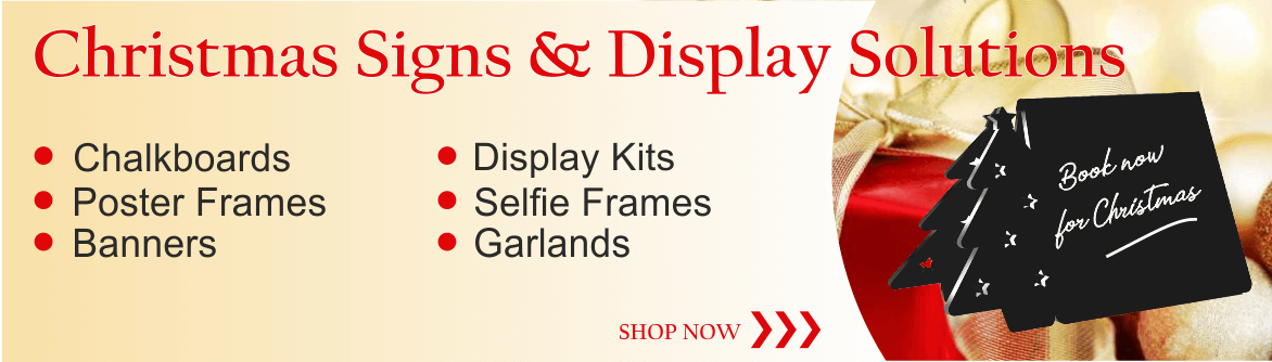 Christmas Signs & Display Products