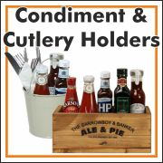 Condiment & Cutlery Holders