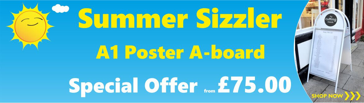 Booster A-board Promotion