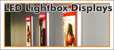LED Lightbox Displays