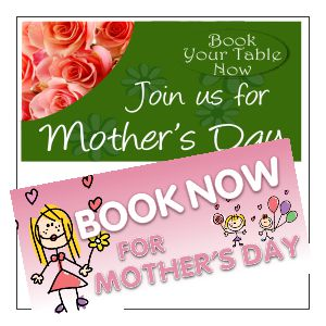 Mother's Day Banner Designs